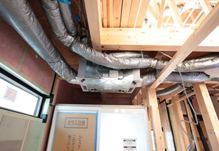 第1種全熱交換型換気システム